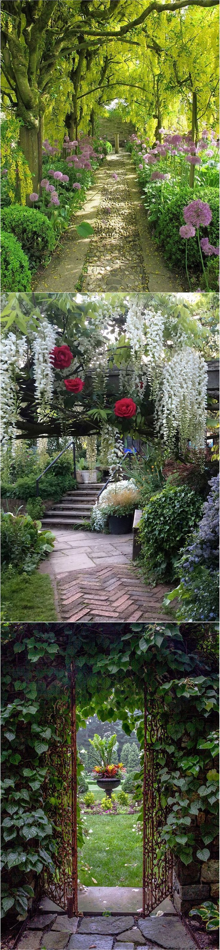 Elegant Gartenbeet Ideen Design
