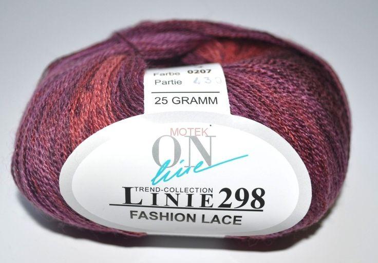 ONLINE Fashion Lace - 207 melanż różowy MOTEK