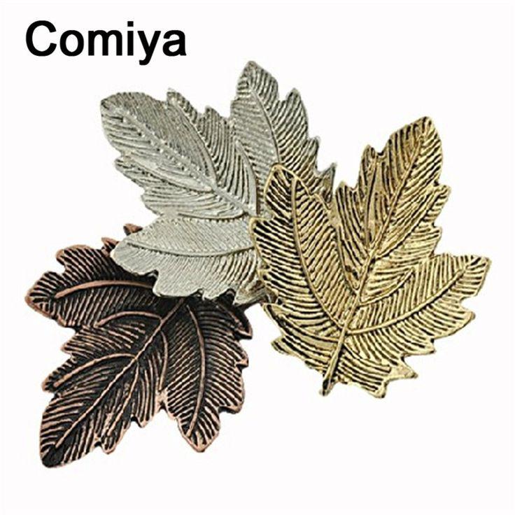 Vintage retro rock jewelry women alloy brooch pin maple leaf metal joyeria harajuku joyeria pashmina feminino mujer brooch pins