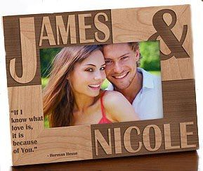 Personalized Picture Frames for Boyfriend | Personalized Picture Frame