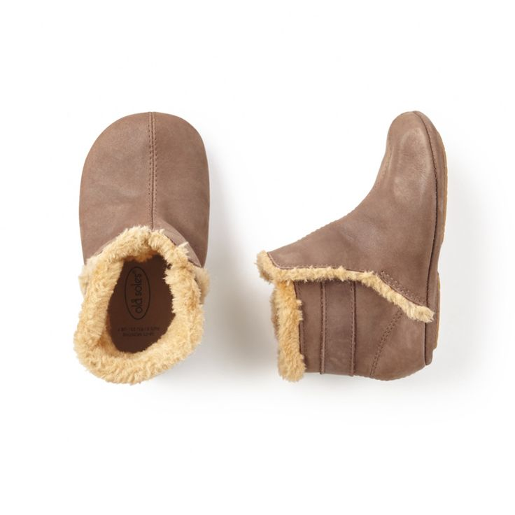 Old Soles Polar Boot | A soft and sweet little shoe for keeping toes cozy on chilly days.