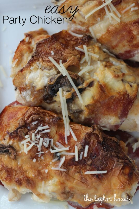 Easy Delicious Party Chicken that everyone will love!