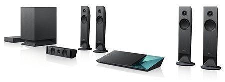 Sony BDV-N7100WB für 379€ im Sony Outlet Store - 5.1 Blu-ray-Heimkinosystem (3D, WLAN, Bluetooth, NFC) - myDealZ.de