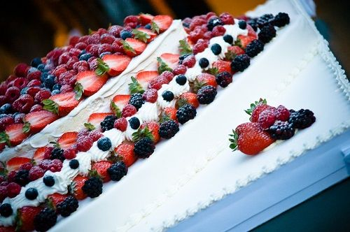 Italian wedding cake.