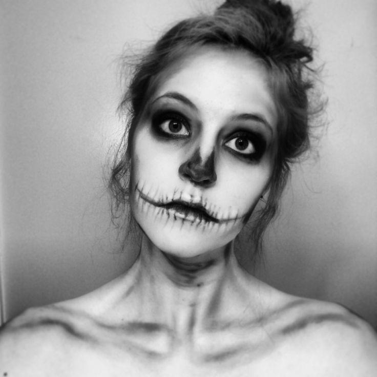 subtle skeleton makeup - Google Search
