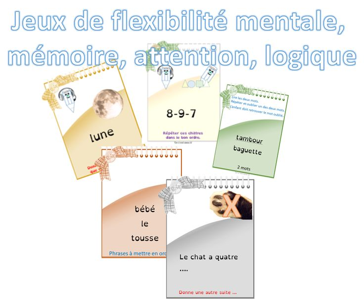 Travailler l'attention et la flexibilité mentale - jeu1 - dys é moi Zazou et Madel