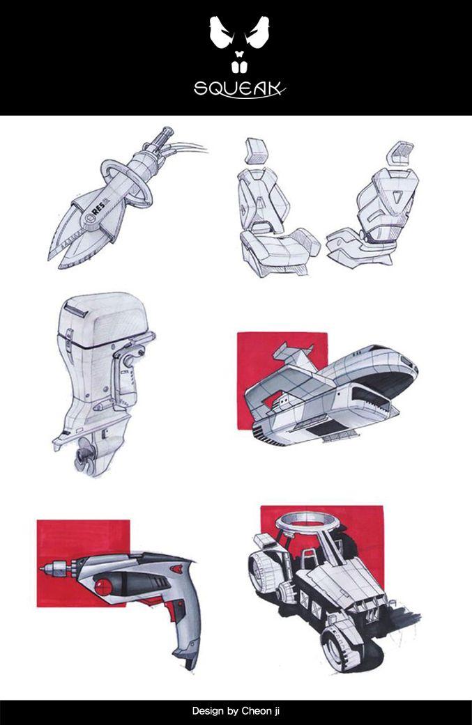 #industrial #design #sketch