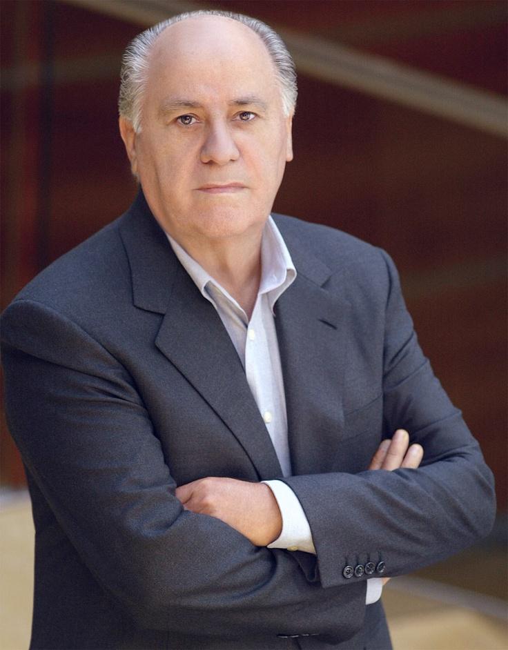 Amancio Ortega, el tercer hombre más rico del mundo. Él es el fundador de Zara en España.