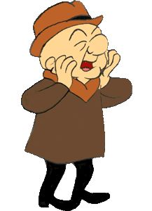 "Mr. Magoo--one of my favorites, especially his version of ""A Christmas Carol."""