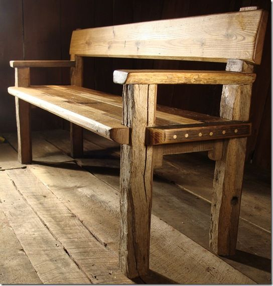 Barn Wood Furniture Ideas: 25+ Best Ideas About Reclaimed Wood Benches On Pinterest
