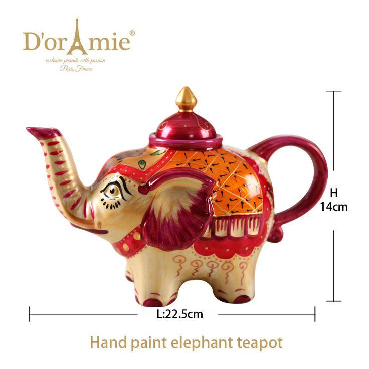 wholesale elephant teapot indian wedding favors