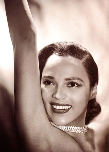 dorothy dandridge- the first acadamy and golden globe nominated african american actress :)