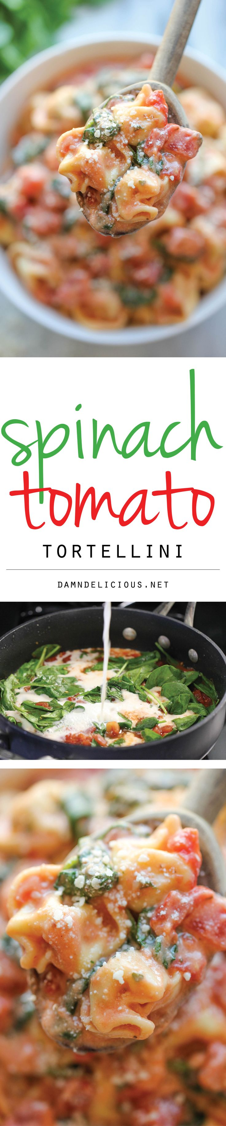 Easy tortellini crock pot recipe