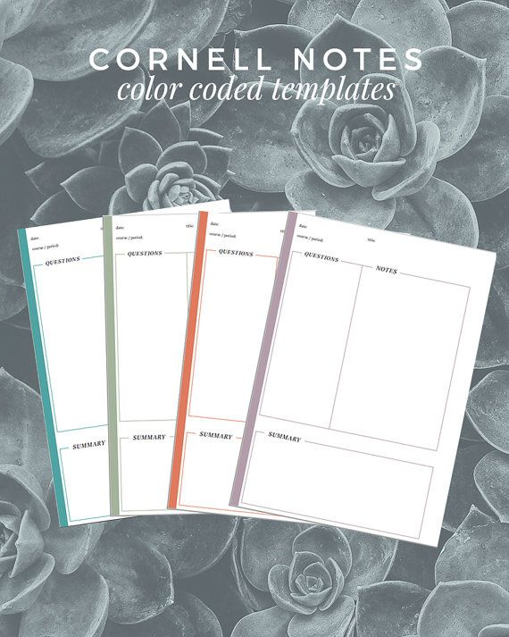 The 25+ best Cornell notes pdf ideas on Pinterest - cornell note