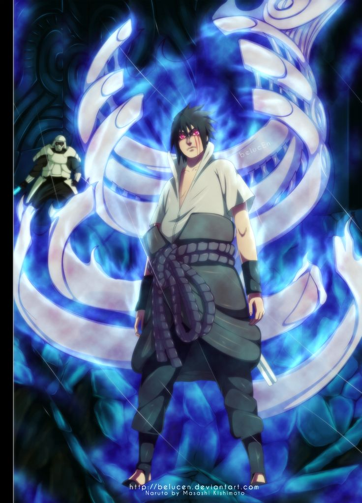 Sasuke Is Lost In The Darkness Naruto 463 Susanoo By
