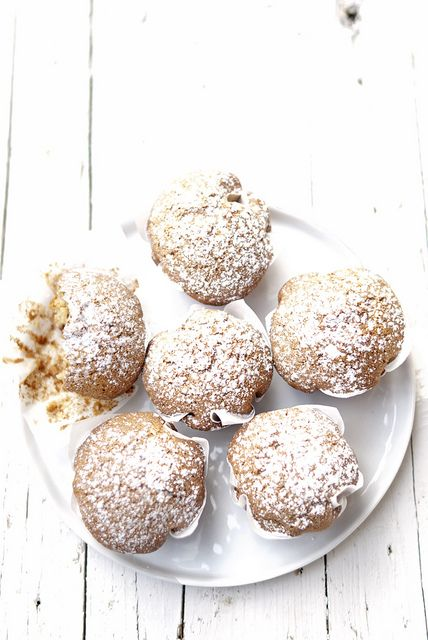 Muffins mirtilli e banana