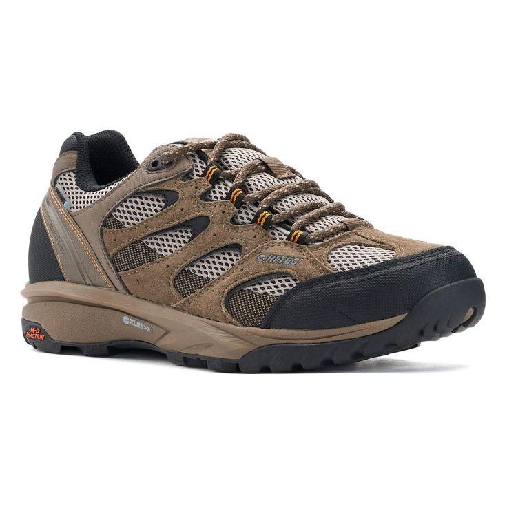 Hi-Tec Trail Blazer Low Men's Waterproof Hiking Boots, Size: medium (8.5), Lt Beige