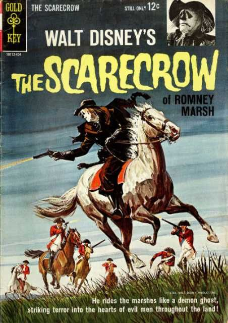 """Walt Disney's The Scarecrow of Romney Marsh #1 - Part 1 (Issue) January 1, 1964 (***Subject Notes:  """"The Scarecrow Of Romney Marsh"""" is a three-part television show that originally aired on Walt Disney's """"Wonderful World Of Color"""" in February of 1964.)***"""