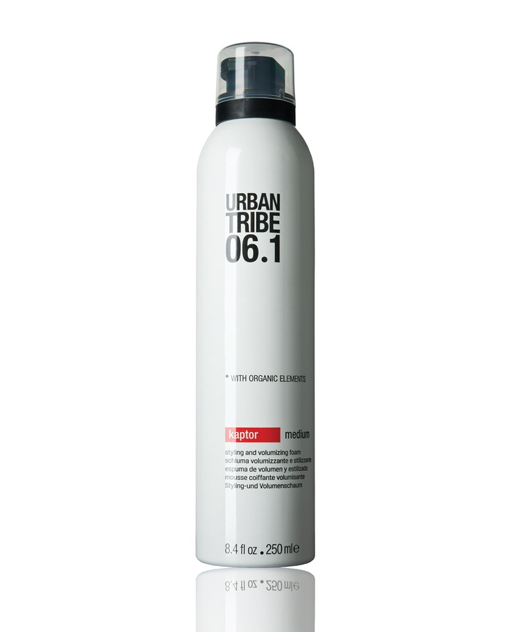 Try Urban Tribe 06.1 kaptor to get an amazing styling and ultra-volumizing! #hair #style