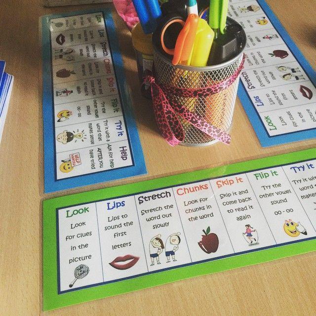 Reading strategies on my reading desk  #teacher #teacherlife #teachersdownunder #teachersofinstagram #teachersloveinstagram #teachersfollowteachers