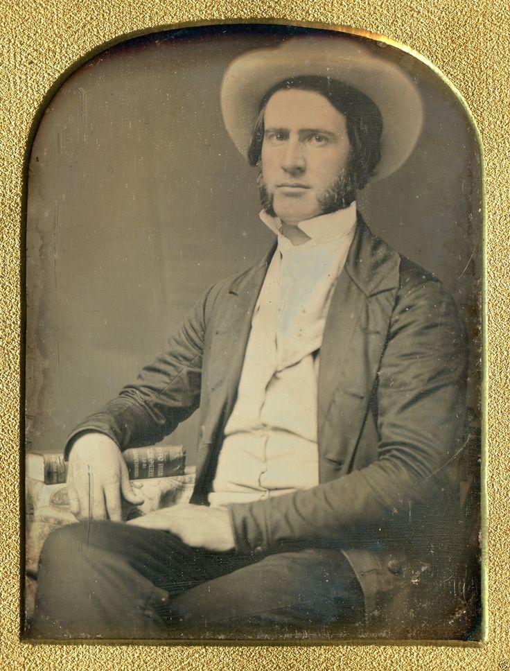 Antique Daguerreotype 1851 US Patent Office Agriculture Book Inventor 1 4 Photo | eBay