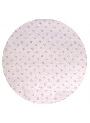 Ditsy Fitted Cot Sheet Baby Girl Bedding
