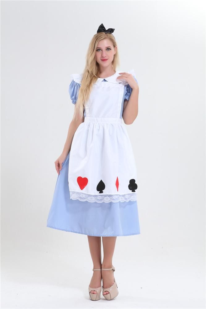 Aapparel factory walson High Quality Costume alice in wonderland costume