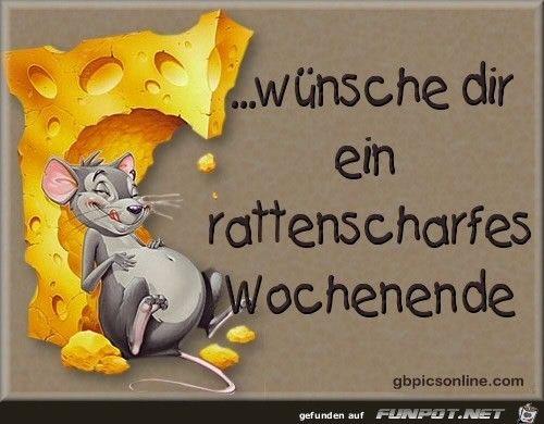 funpot: rattenscharfes Wochenende.jpg von WienerWalzer