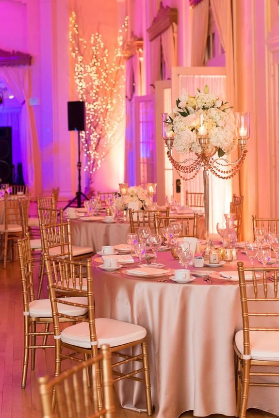Pop The Champagne Wedding At Lafayette Club Linen Effects Wedding Event And Party Rental Decor Loca Wedding Rentals Wedding Centerpieces Rental Decorating
