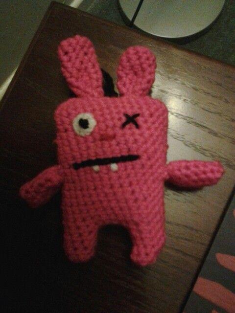 An ugly bunny