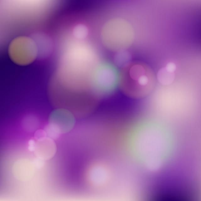Purple Blurred Bokeh Background Abstract Background Blur