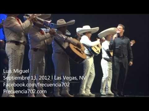 Luis Miguel en vivo desde Las Vegas con Mariachi & Medley 9-13-2012 HD