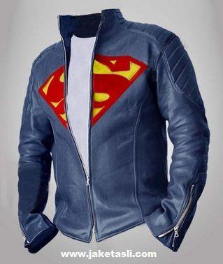 Jual Jaket Kulit Logo Superman Original, Custom Design WhatsApp : 081703402482 http://jaketkulitz.blogspot.com/2017/01/jaket-kulit-superman.html