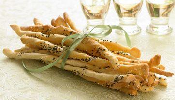 De sprøde, italienske brødstænger, der smager helt forrygende, når de er hjemmelavet