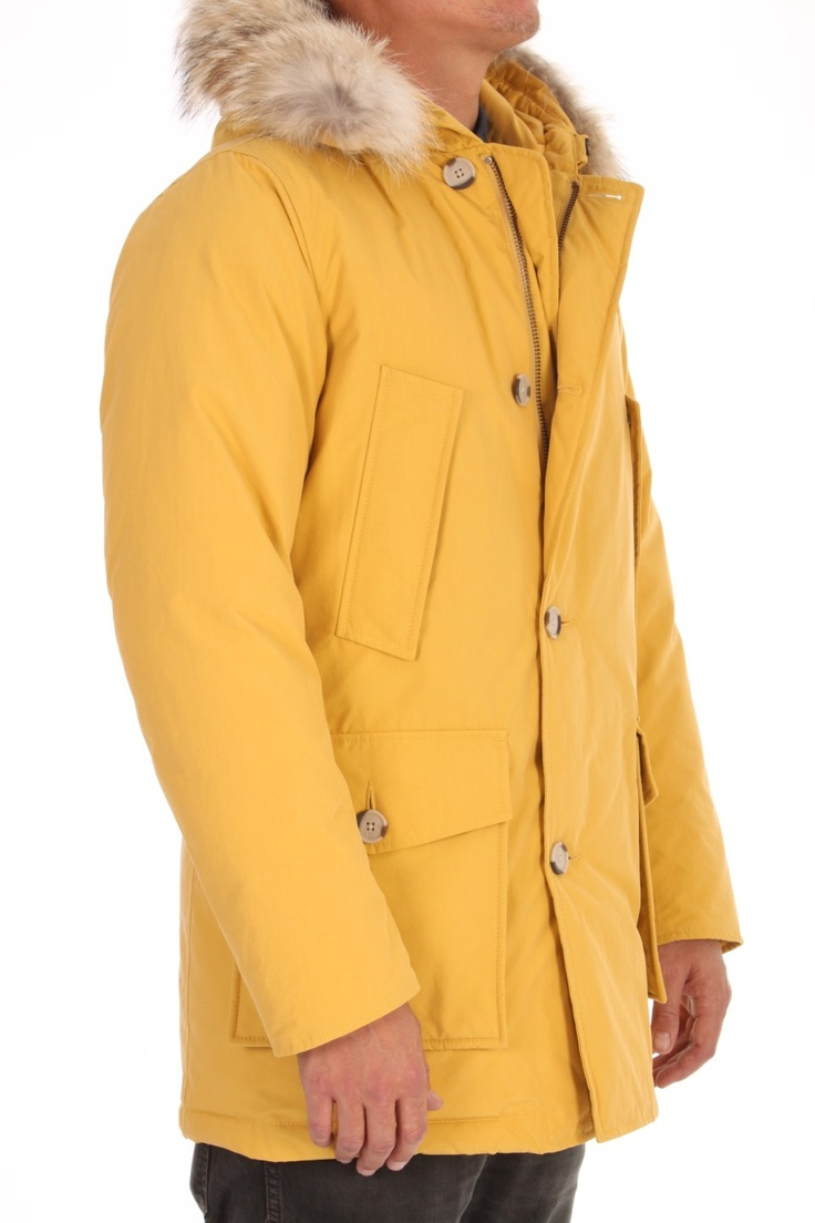 Woolrich Arctic Parka Byrd Cloth Powder