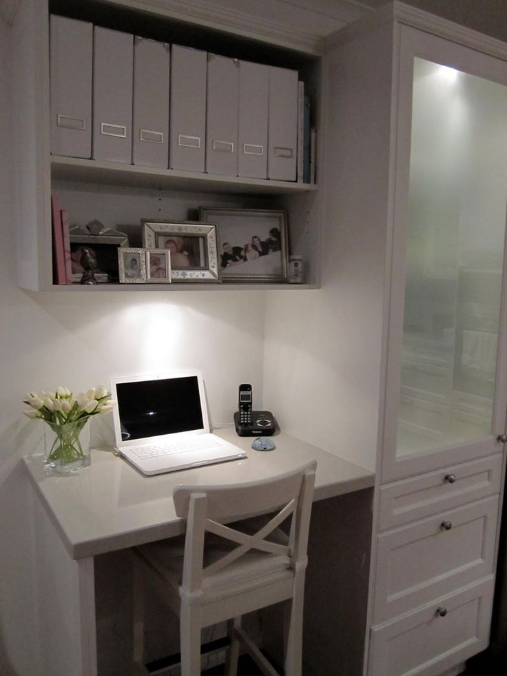 Kitchen Desk And Like The Cupboard Next To It This