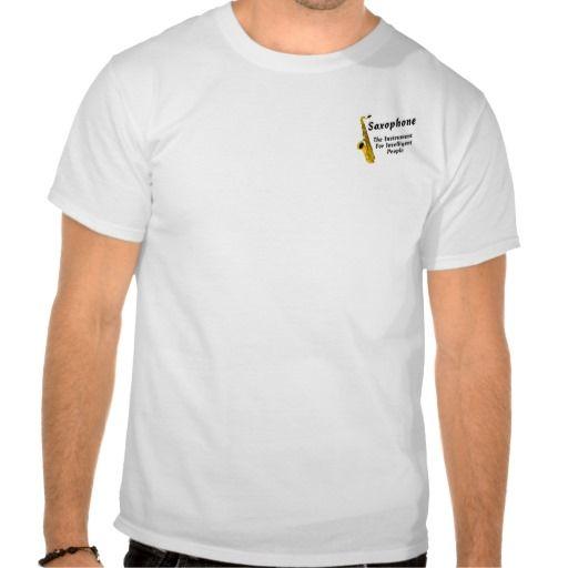 Intelligent Sax T Shirt