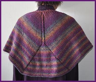 Mendocino Shaped Shawl - free shawl pattern - Crystal Palace Yarns