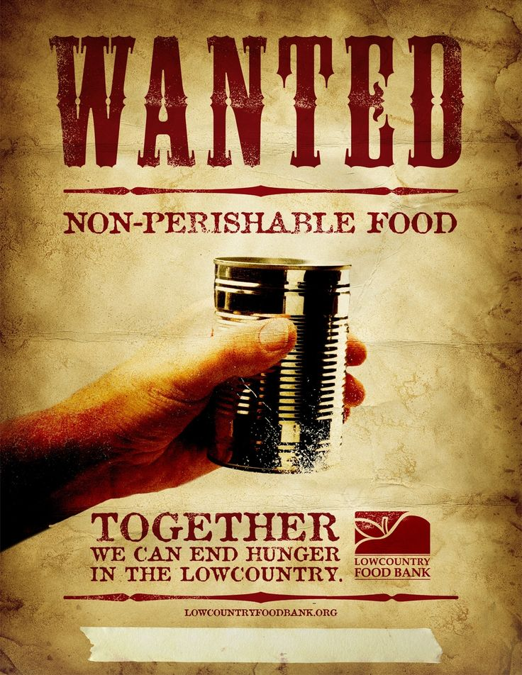 Wanted: Non-Perishable Food