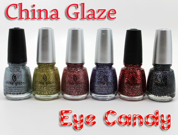 CG 2011 Holiday Eye Candy collex. Love these glitters!