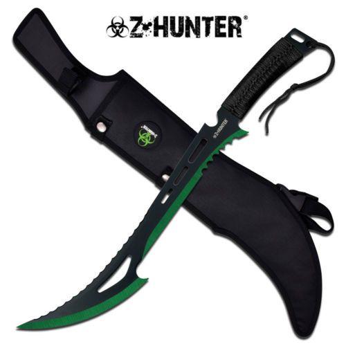 Zombie-Hunter-Messer-Machete-Buschmesser-Hackmesser-Nylonscheide-ZB020