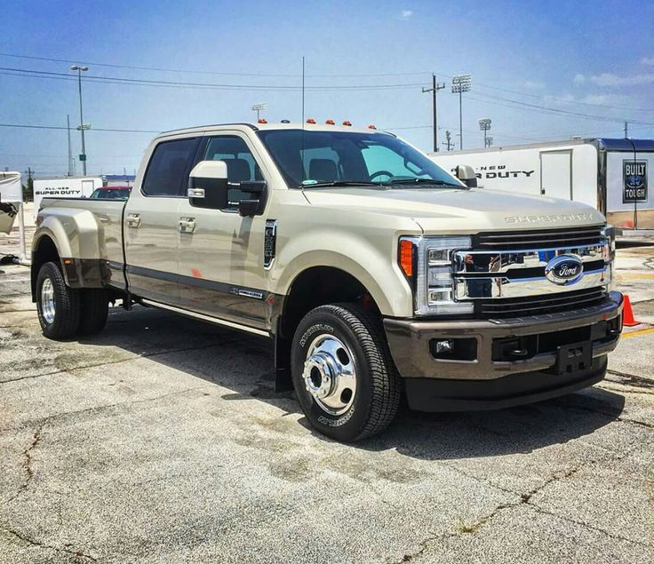 2017 Ford King Ranch F350