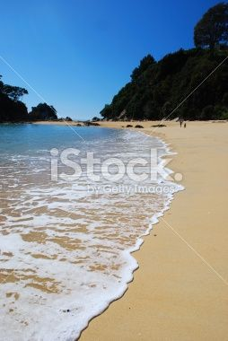Little Kaiteriteri Beach, Tasman Region, New Zealand Royalty Free Stock Photo