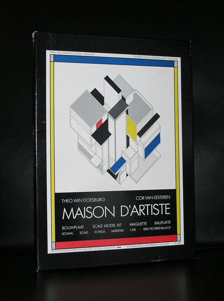 Theo van Doesburg, Eesteren# MAISON d'ARTISTE# mint