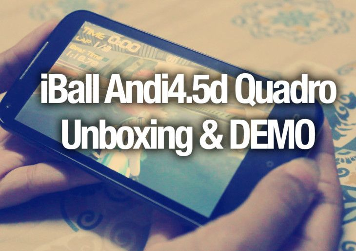iBall Andi4.5d Quadro Unboxing and Benchmark Results