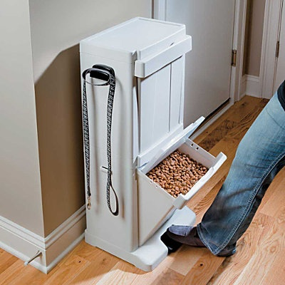 Pet Food Storage Tower