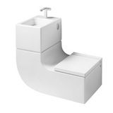 W+W (washbasin + watercloset), at Roca (contact for price)