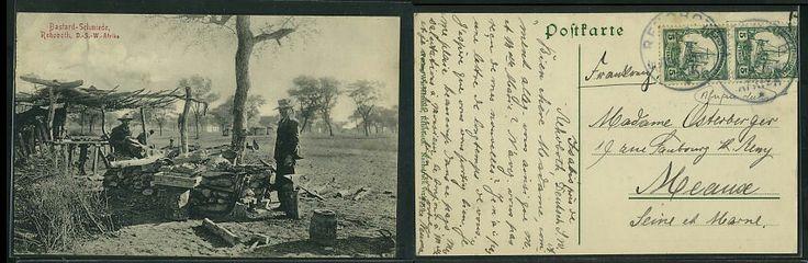 'Bastard Schmiede' caption from postcard