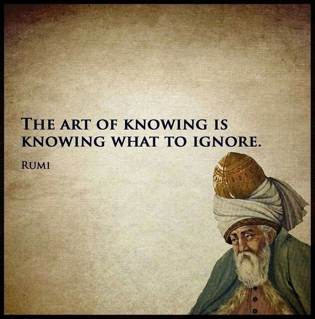 The art of knowing.