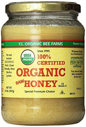 YS Organic Bee Farms Certified Organic Raw Honey 100% Unprocessed, Unpasteurized - Kosher 32oz 2 Lbs Frustration Free Packaging YS Organic http://smile.amazon.com/dp/B00NVMIQE6/ref=cm_sw_r_pi_dp_icyHvb125GXSW